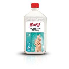 Антисептик для рук и поверхностей бесспиртовой 1 л НИКА-АНТИСЕПТИК АКВАМУСС, дезинфицирующий, жидкость