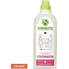 Средство для отбеливания 1 л SYNERGETIC, кислородсодержащее, биоразлагаемое, ЭКО
