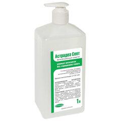 Антисептик для рук и поверхностей бесспиртовой с дозатором 1л АСТРАДЕЗ-СЕПТ, дезинфицирующий, жидкость