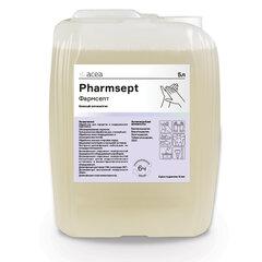 Антисептик для рук и поверхностей спиртосодержащий (76%) 5 л ФАРМСЕПТ, дезинфицирующий, жидкость