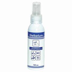 Антисептик для рук и поверхностей спиртосодержащий (75%) с распылителем 100мл STELLARIUM (Стеллариум), дезинфицирующий, жидкость