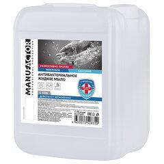 Мыло жидкое антибактериальное 10 л MANUFACTOR, канистра