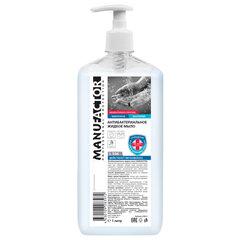 Мыло жидкое антибактериальное 1 л MANUFACTOR, с дозатором