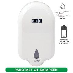 Диспенсер для жидкого мыла СЕНСОРНЫЙ, НАЛИВНОЙ, 1 л, на батарейках AA (не в комплекте), BXG, ADS-1100