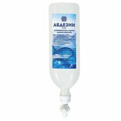 Антисептик для рук и поверхностей спиртосодержащий (64%) 1л АБДЕЗИН-АКТИВ, дезинфицирующий, жидкость, диспенсопак