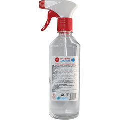 Антисептик для рук и поверхностей спиртосодержащий (65%) с распылителем 500 мл АКТЕРМ АНТИСЕПТ, дезиницирующий, жидкость