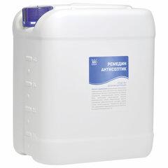 Антисептик для рук и поверхностей спиртосодержащий (63%) 5л РЕМЕДИН, дезинфицирующий, жидкость