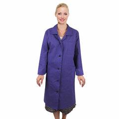 Халат рабочий женский синий, бязь, размер 48-50, рост 170-176, плотность ткани 142 г/м2, 610810
