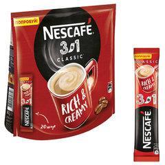 """Кофе растворимый NESCAFE """"3 в 1 Классик"""", 20 пакетиков по 14,5 г (упаковка 290 г)"""