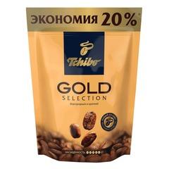 """Кофе растворимый TCHIBO """"Gold selection"""", сублимированный, 150 г, мягкая упаковка"""
