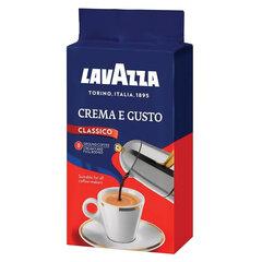 "Кофе молотый LAVAZZA ""Crema E Gusto"", 250 г, вакуумная упаковка"