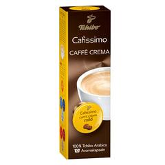 Капсулы для кофемашин Cafissimo TCHIBO Caffe Crema Mild, натуральный кофе, 10 шт. х 7 г