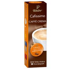 Капсулы для кофемашин Cafissimo TCHIBO Caffe Crema Vollmundig, натуральный кофе, 10 шт. х 8 г