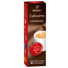 Капсулы для кофемашин Cafissimo TCHIBO Espresso Mailander Elegant, натуральный кофе, 10 шт. х 7 г