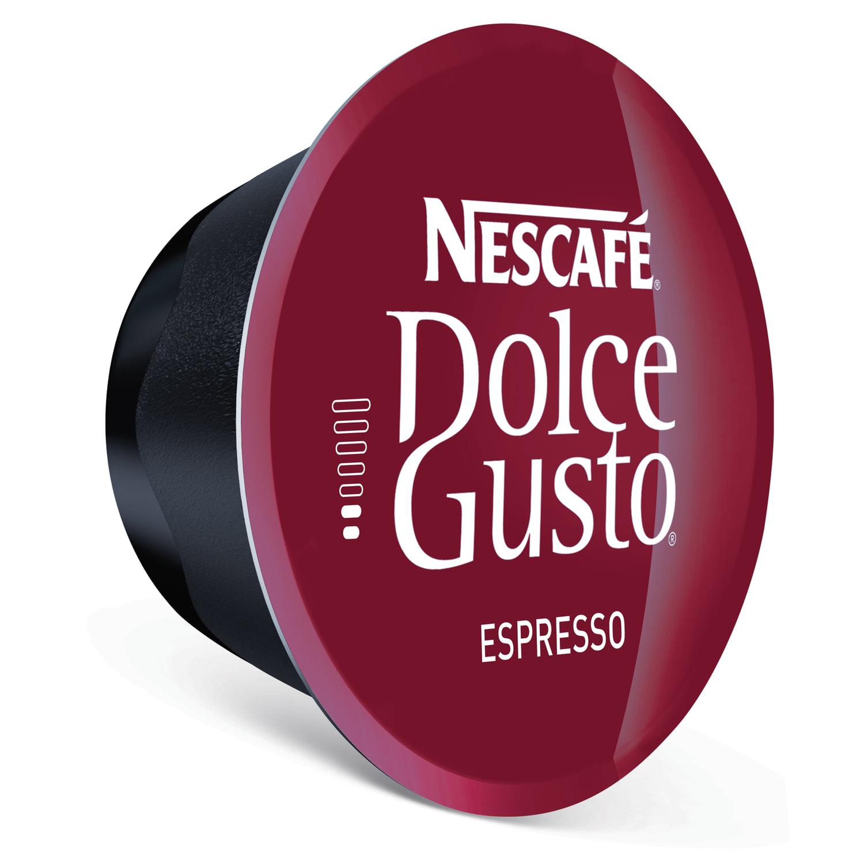 Капсулы для кофемашин NESCAFE Dolce Gusto Espresso, натуральный кофе 16 шт. х 6 г