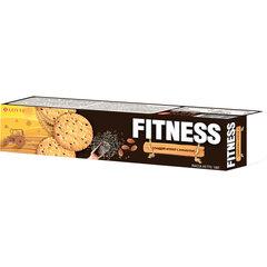 """Печенье-крекер LOTTE """"Fitness"""", сладкие, с кунжутом, в картонной упаковке, 100 г"""
