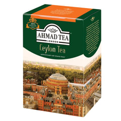 """Чай AHMAD (Ахмад) """"Ceylon Tea OP"""", черный листовой, картонная коробка, 200 г"""