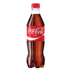Напиток газированный COCA-COLA (Кока-кола), 0,5 л, пластиковая бутылка