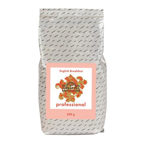 """Чай AHMAD (Ахмад) """"English Breakfast"""" Professional, черный, листовой, пакет, 500 г"""
