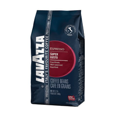 """Кофе в зернах LAVAZZA (Лавацца) """"Super Gusto UTZ"""", натуральный, 1000 г, вакуумная упаковка"""