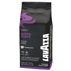 "Кофе в зернах LAVAZZA ""Gusto Forte Expert"", 1000 г, вакуумная упаковка"