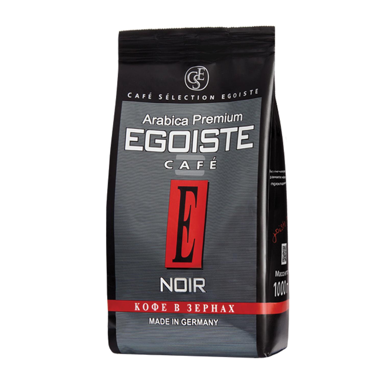 """<b>Кофе в</b> зернах <b>EGOISTE</b> """"<b>Noir</b>"""", натуральный, 1000 г, 100 ..."""