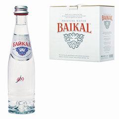 """Вода негазированная питьевая """"БАЙКАЛ"""", 0,25 л, стеклянная бутылка"""