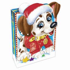 """Подарок новогодний """"Снежок"""", 500 г, набор конфет и пр., ассорти, картонная коробка"""