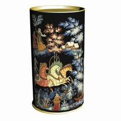 """Подарок новогодний """"ПАЛЕХ"""", 800 г, набор конфет и пр., ассорти, картонная туба"""