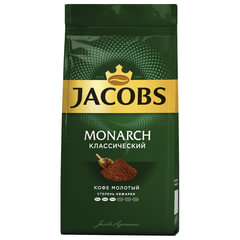 Кофе молотый JACOBS Monarch, 230 г, вакуумная упаковка