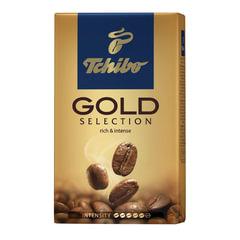 """Кофе молотый TCHIBO (Чибо) """"Gold selection"""", натуральный, 250 г, вакуумная упаковка"""