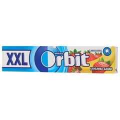 """Жевательная резинка ORBIT (Орбит) XXL """"Клубника-банан"""", 15 подушечек, 20,4 г"""