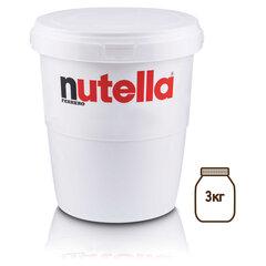 Паста ореховая NUTELLA (Нутелла), 3000 г, пластиковое ведро