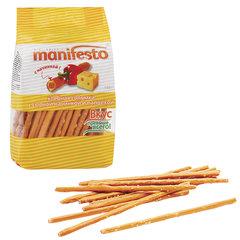Хлебная соломка MANIFESTO, с сырной начинкой и паприкой, 150 г