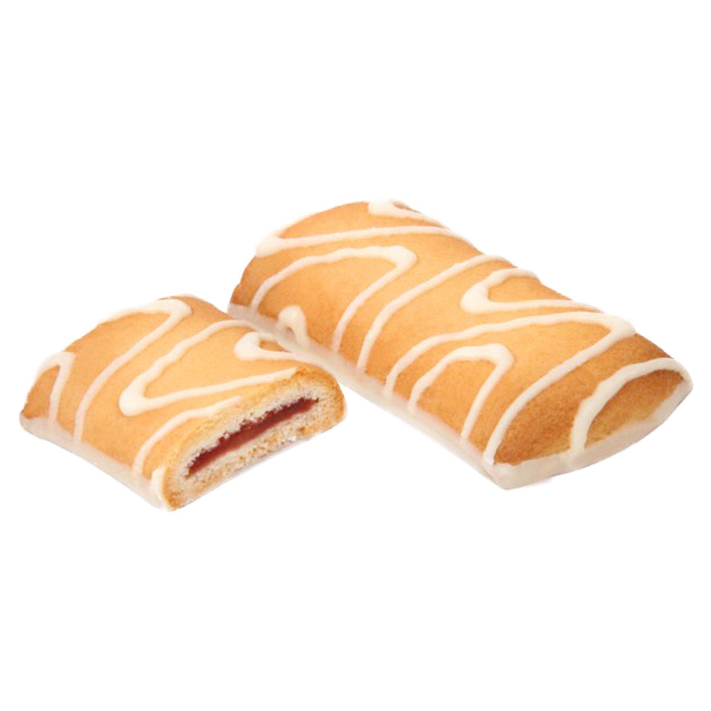 """Печенье БЕЛОГОРЬЕ """"Лакомый кусочек"""", сдобное в белой глазури, 4 кг, весовое, гофрокороб"""