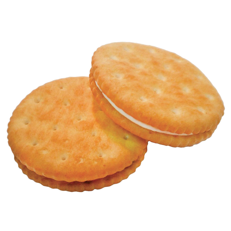 """Печенье БЕЛОГОРЬЕ """"Кристо-Твисто"""", крекер с начинкой пломбирчик, 3,5 кг, вес., гофрокороб"""
