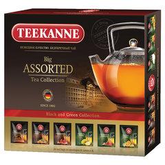"Чай TEEKANNE (Тиканне) ""Big Assorted"", 6 вкусов черного и зеленого чая, 24 пакетика, Германия"