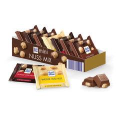 Шоколад порционный 1 плитка RITTER SPORT, ассорти с цельным орехом, 16,67 г, Германия