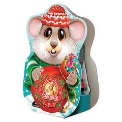 """Подарок новогодний """"Настоящий подарок от Славянки"""", 170 г, НАБОР конфет, картонная упаковка"""