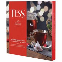 Чай TESS (Тесс), НАБОР 9 видов, 45 пирамидок, 82 г, картонная коробка