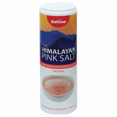 """Соль пищевая 250 г """"Гималайская"""" розовая, пластиковая туба с дозатором, SALINA"""