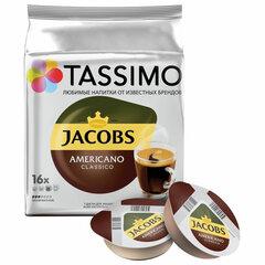 Кофе в капсулах JACOBS Americano для кофемашин Tassimo, 16 порций
