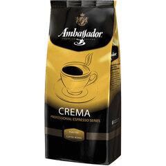"""Кофе в зернах AMBASSADOR """"Crema"""", 1 кг, вакуумная упаковка"""