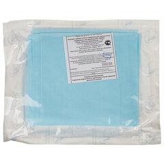 Простыня одноразовая ГЕКСА стерильная, 140х200 см, спанбонд ламинированный 40 г/м2, голубая