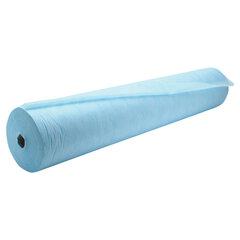 Простыни одноразовые ЧИСТОВЬЕ рулонные с перфорацией 100 шт., 80х200 см, СМС 14 г/м2, голубые