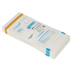 Пакет бумажный самоклеящийся ВИНАР СТЕРИТ, комплект 100 шт., для ПАРОВОЙ/ВОЗДУШНОЙ стерилизации, 100х200 ММ
