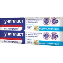 Лейкопластырь бактерицидный УНИПЛАСТ, полоска 1,9х7,2 см, пленочная основа