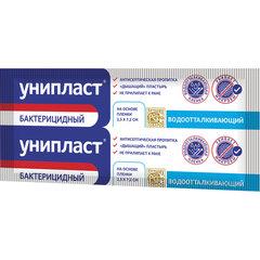 Лейкопластырь бактерицидный УНИПЛАСТ, полоска 2,5х7,2 см, пленочная основа