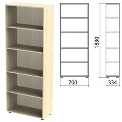 "Шкаф (стеллаж) ""Канц"" 700х330х1830 мм, 4 полки, цвет дуб молочный"