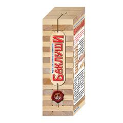 """Игра настольная Башня """"Баклуши"""", неокрашенные деревянные блоки, """"Десятое королевство"""", 01505"""